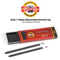 Koh-i-Noor - Koh-i-Noor Gioconda Portmin Uç 5.6 x 120mm 6lı 8673