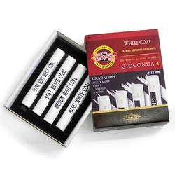 Koh-i-Noor - Koh-i-Noor Gioconda White Coal 4lü Set Karışık 8692
