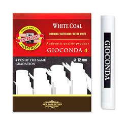 Koh-i-Noor - Koh-i-Noor Gioconda White Coal 4lü Set Medium 8692/3