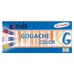 Kosida - Kosida Guaj Boya 12x12ml Set G1212