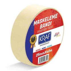 Kraf - Kraf Maskeleme Bandı 25mmx40mt