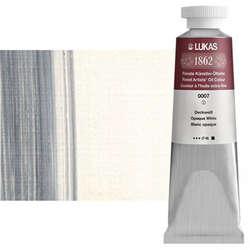 Lukas - Lukas 1862 37ml Yağlı Boya Seri:1 No:0007 Örtücü Beyaz