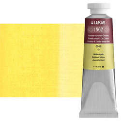 Lukas - Lukas 1862 37ml Yağlı Boya Seri:1 No:0012 Brilliant Sarı-Koyu