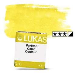 Lukas - Lukas 1862 Artist Yarım Tablet Sulu Boya 1044 Cadmium Yellow S2