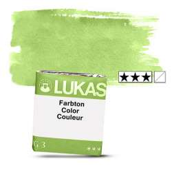 Lukas - Lukas 1862 Artist Yarım Tablet Sulu Boya 1171 Cin. Green Light S2