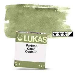 Lukas - Lukas 1862 Artist Yarım Tablet Sulu Boya 1176 Olive Green S2