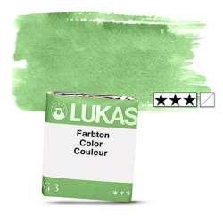 Lukas - Lukas 1862 Artist Yarım Tablet Sulu Boya 1193 P Green Yelowish S2