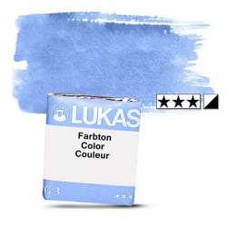 Lukas - Lukas 1862 Artist Yarım Tablet Sulu Boya 1198 Permanent Blue S2