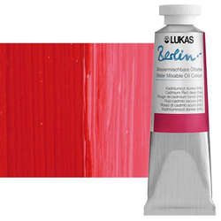 Lukas - Lukas Berlin 37ml Yağlı Boya No:0874 Kadmium Kırmızı Koyu