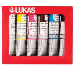 Lukas - Lukas Studio Yağlı Boya Seti Assortment Box 6x20ml 6482 (1)
