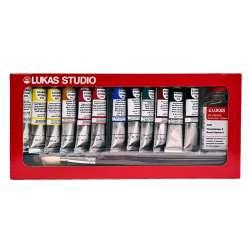 Lukas - Lukas Studio Yağlı Boya Seti Sliding Box 12x20ml 6472 (1)