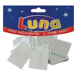 Luna - Luna Mozaik Ayna Kare 25x25mm 14 Adet 601612