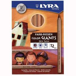 Lyra - Lyra Skin Tones Çizim Kalemi Seti 12 Renk