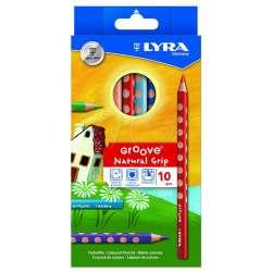 Lyra - Lyra Groove Natural Grip 10lu Kuru Boya Seti L3811100
