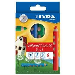 Lyra - Lyra Groove Triple 3 in 1 6lı Boya Seti L3831060
