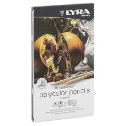 Lyra - Lyra Rembrandt Polycolor Kuru Boya Kalemi 12li Set