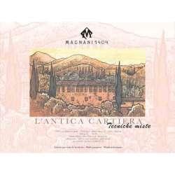 Magnani1404 - Magnani1404 L antica Cartiera Cold Pressed Çok Amaçlı Blok 300g 30 Sayfa 30x40