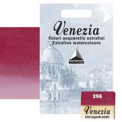 Maimeri - Maimeri Venezia Yarım Tablet Sulu Boya No:256 Primary Red-Magenta