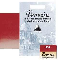 Maimeri - Maimeri Venezia Yarım Tablet Sulu Boya No:274 Scarlet