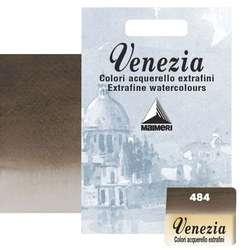 Maimeri - Maimeri Venezia Yarım Tablet Sulu Boya No:484 Vandyke Brown