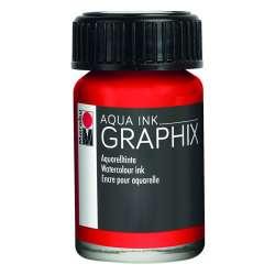 Marabu - Marabu Graphix Aqua Ink 15ml 006 Vermilion