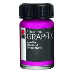 Marabu - Marabu Graphix Aqua Ink 15ml 014 Magenta