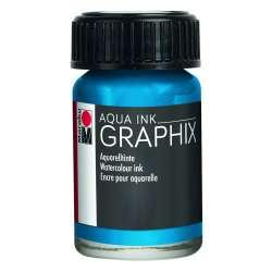 Marabu - Marabu Graphix Aqua Ink 15ml 056 Cyan