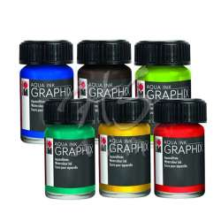 Marabu - Marabu Graphix Aqua Ink 15ml