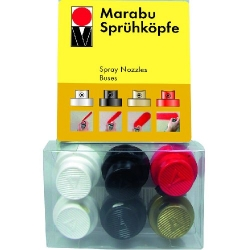 Marabu - Marabu Sprey Ucu 6 lı Set
