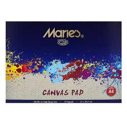 Maries - Maries Canvas Pad Akrilik ve Yağlı Boya Blok 20 Yaprak 21x29,7cm