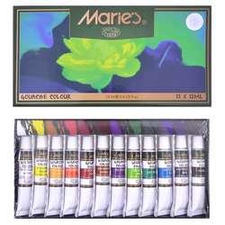 Maries - Maries Guaj Boya Takımı 12 Renk