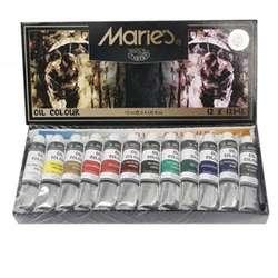Maries - Maries Yağlı Boya Seti 12x12ml E1381B