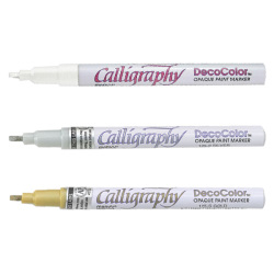 Marvy - Marvy Decocolor Calligraphy Paint Marker
