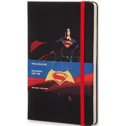 Moleskine - Moleskine Batman vs Superman Büyük Boy Çizgili Defter