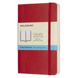 Moleskine - Moleskine Klasik Cep Boy Yumuşak Kapak Noktalı Defter Kırmızı