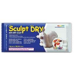 Mungyo - Mungyo Air Sculpt Dry Seramik Hamuru Beyaz 1000g