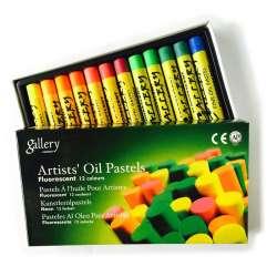 Mungyo - Mungyo Gallery Yağlı Pastel Floresan Renkler 12li