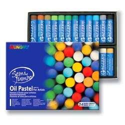 Mungyo - Mungyo Jumbo Oil Pastel 24 Renk