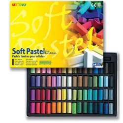 Mungyo - Mungyo Soft Pastel 64lü Set Yarım Boy