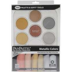 Pan Pastel - PanPastel Boya Seti 6lı Metallic Colors
