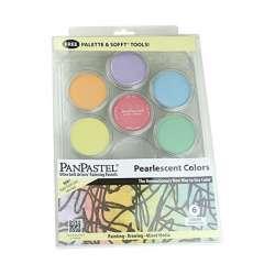 Pan Pastel - PanPastel Boya Seti 6lı Pearlescent Colors