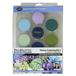 Pan Pastel - PanPastel Boya Seti 7li Flower Coloring Kit 2