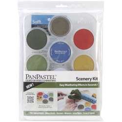 Pan Pastel - PanPastel Boya Seti 7li Scenery Kit