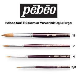 Pebeo - Pebeo 110 Seri Samur Sulu Boya Fırçası