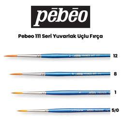 Pebeo - Pebeo 111 Seri Yuvarlak Uçlu Fırça