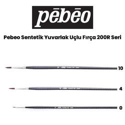 Pebeo - Pebeo 200R Seri Sentetik Yuvarlak Uçlu Fırça
