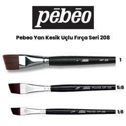 Pebeo - Pebeo 208 Seri Yan Kesik Uçlu Fırça