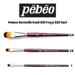 Pebeo - Pebeo 220 Seri Sentetik Kedi Dili Fırça