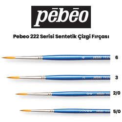 Pebeo - Pebeo 222 Serisi Sentetik Çizgi Fırçası