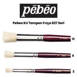 Pebeo - Pebeo 827 Seri Kıl Tampon Fırça